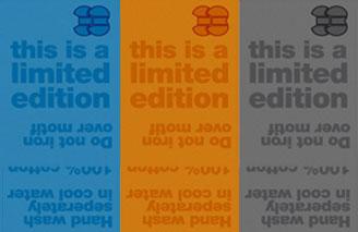 Printed labels sample