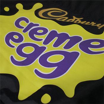 photo of Cadbury's Creme Egg t-shirt print